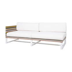 Stripe right sectional | Garden sofas | Mamagreen