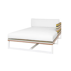 Stripe left chaise | Sedute ad isola | Mamagreen