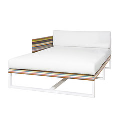 Stripe right chaise | Seating islands | Mamagreen