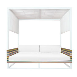 Stripe daybed | Gazebos | Mamagreen