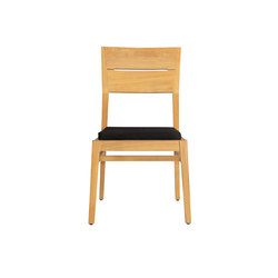 Twizt upholstery dining side chair (sunbrella) | Sillas | Mamagreen