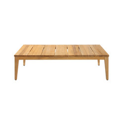 Twizt rectangular coffee table 140x70 cm | Tavoli bassi da giardino | Mamagreen