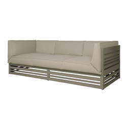 Yuyup sofa 3-seater low back | Divani da giardino | Mamagreen