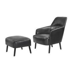 Mono Armchair & Stool | Poltrone lounge | Wittmann