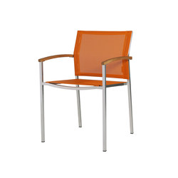Zix dining stackable armchair | Garden chairs | Mamagreen