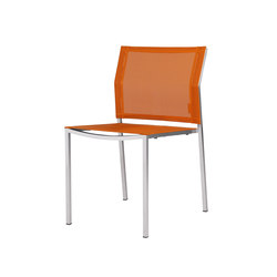 Zix dining stackable side chair | Garden chairs | Mamagreen