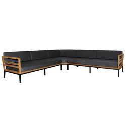 Zudu corner sofa symetric | Divani da giardino | Mamagreen