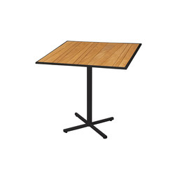 Allux counter table 90x90 cm (Base P) | Bar tables | Mamagreen