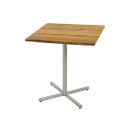 Oko counter table 75x75 cm (Base C - diagonal) | Tables hautes de jardin | Mamagreen