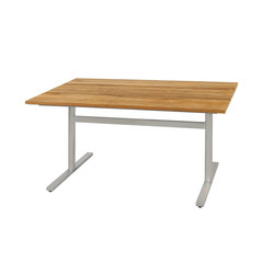 Oko dining table 135x75 cm (Base E - cross) | Tables à manger de jardin | Mamagreen