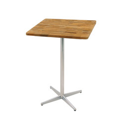 Natun bar table 70x70 cm (Base A) | Garten-Bartische | Mamagreen