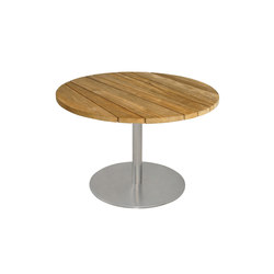Gemmy coffee table Ø 80 cm (Base D) | Tavoli bassi da giardino | Mamagreen