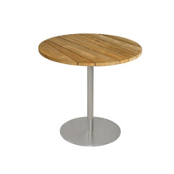 Gemmy dining table Ø 80 cm (Base D) | Garten-Esstische | Mamagreen