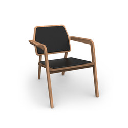 Wooden armchair | Poltrone lounge | MHPD
