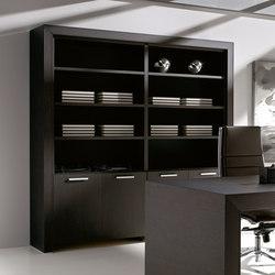 Aparadores-cómodas-Muebles de archivo-Archivo-Belesa negro-Ofifran