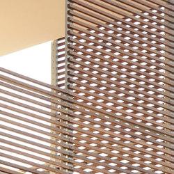 Brise Soleil | Revestimientos de fachada | RAVAIOLI LEGNAMI