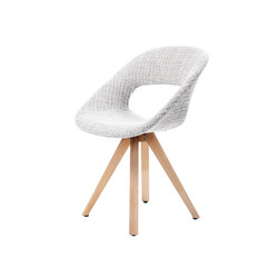 Diagonal Solid Chair | Visitors chairs / Side chairs | dutchglobe