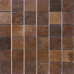 Argile | Brick Mosaic | Ceramic mosaics | TERRATINTA GROUP
