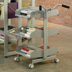 Sistema Store Trolley Single | Carrelli da biblioteca | BD Barcelona