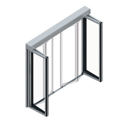 FFT FLEX Green Folding Door | Ventanales | dormakaba