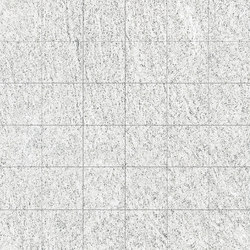 Quartz | White Mosaico | Mosaici | Ceramica Magica