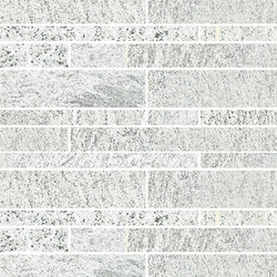 Quartz | White Brick wall | Mosaïques | Ceramica Magica