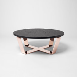 Slate Table Copper Black | Coffeetable | Lounge tables | Edition Nikolas Kerl