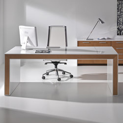 Belesa blanco nogal | Desks | Ofifran