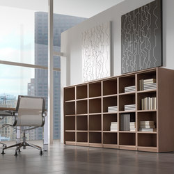 Concepto Free | Roble | Office shelving systems | Ofifran