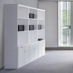 Sistemas de estantería-Archivo-Concepto Free blanco blanco-Ofifran