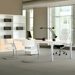 Concepto Free  | Blanco  | Maple | Contract tables | Ofifran
