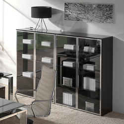 Concepto Free | Cromo | Cristal Marron | Sideboards / Kommoden | Ofifran