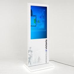 Victoria Mediastele | Digital signage | Meng Informationstechnik