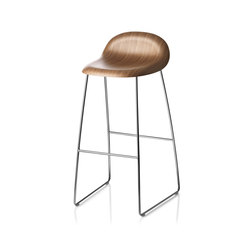 Gubi Stool – Sledge Base | Tabourets de bar | GUBI