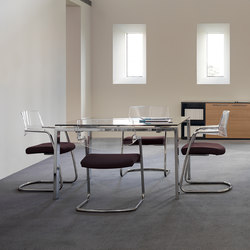 Concepto Free | Teka natural | Piel Marron | Meeting room tables | Ofifran