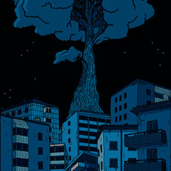 Street Art | City Tree - Create a towering sensation | A medida | Mr Perswall