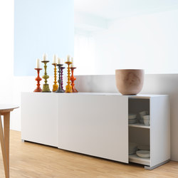 Charlotte sideboards from rimadesio architonic for Sideboard 35 cm tief