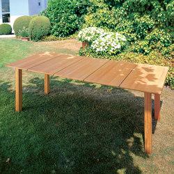 Domido table | Mesas de comedor de jardín | Fischer Möbel