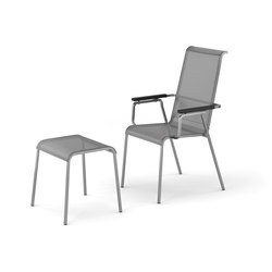 Modena armchair adjustable with footrest | Garden armchairs | Fischer Möbel