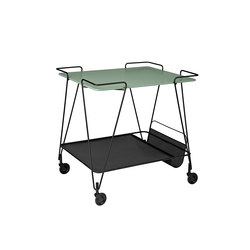 Matégot Trolley | Tea-trolleys / Bar-trolleys | GUBI