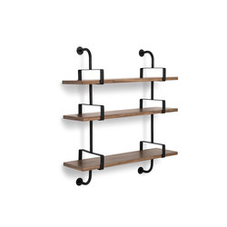 Dèmon Shelf | 3 Shelf | Baldas / estantes de pared | GUBI
