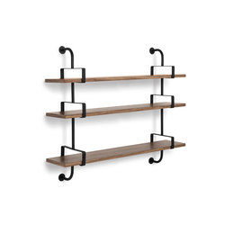 Dèmon Shelf | 3 Shelf | Wall shelves | GUBI