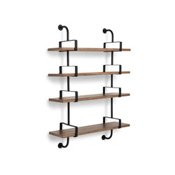 Dèmon Shelf | 4 Shelf | Wall shelves | GUBI