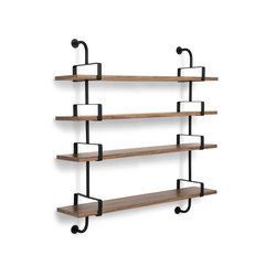 Dèmon Shelf | 4 Shelf | Baldas / estantes de pared | GUBI