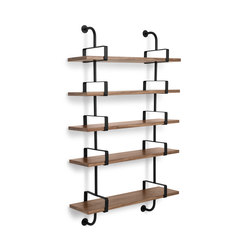 Dèmon Shelf | 5 Shelf | Baldas / estantes de pared | GUBI