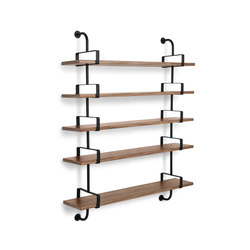 Dèmon Shelf | 5 Shelf | Wall shelves | GUBI