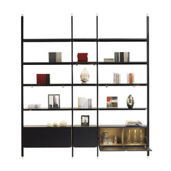 regale hochwertige designer regale architonic. Black Bedroom Furniture Sets. Home Design Ideas
