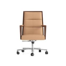 Square ejecutivo ruedas | Sillas de oficina | Ofifran