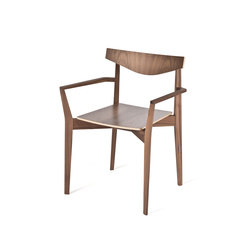 Bridge armchair | Restaurant chairs | Case Furniture