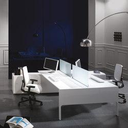 Lance mesa bench | Desking systems | Ofifran